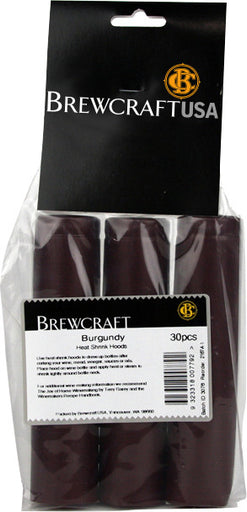 Thermoseal Hoods, Burgundy (30 Pack)