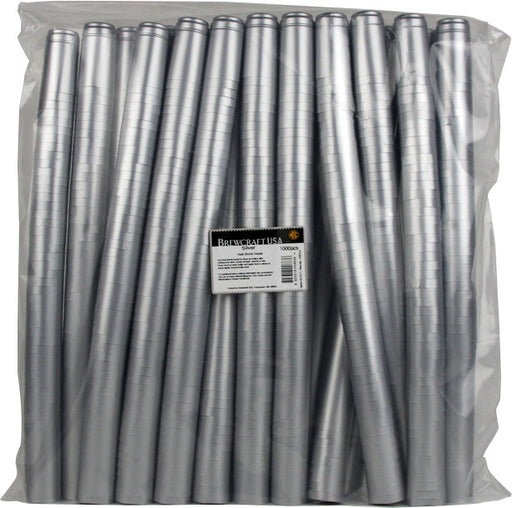Thermoseal Hoods, Silver (1000 Pack)