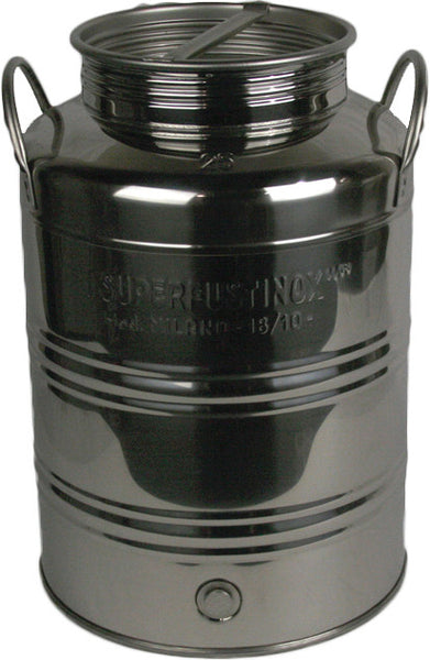 25 L Screw Lid Stainless Steel Olive Oil Drum