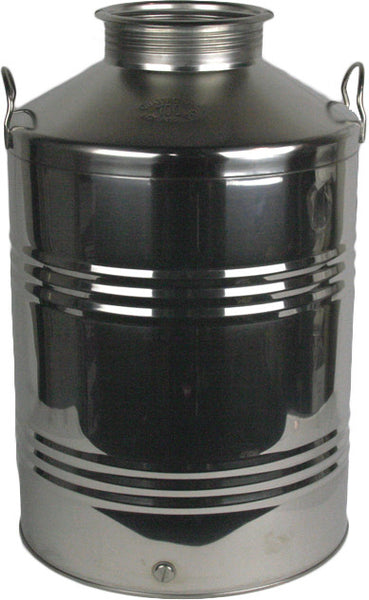 100 L Screw Lid Stainless Steel Olive Oil Drum