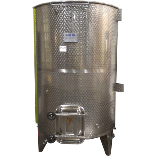 3000 lt Vairable Capacity Stainless, Basic Sloped Bottom Tank