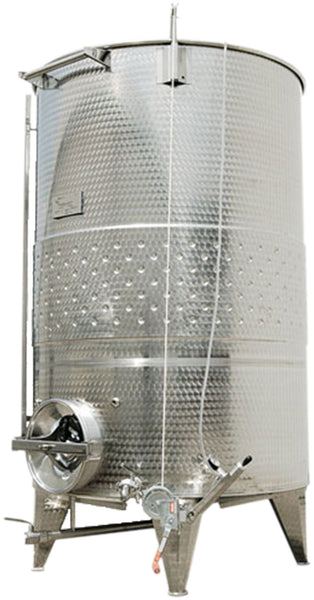3000 lt Vairable Capacity Stainless, Jacketed Conical Bottom Tank