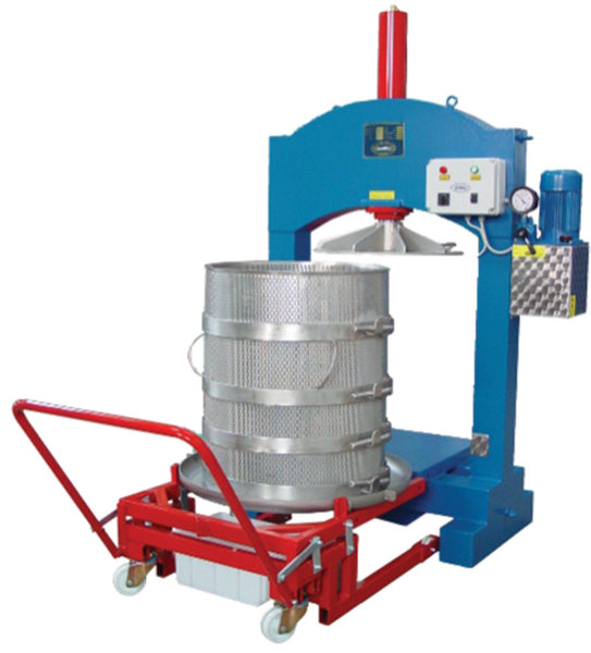 Electric Hydraulic Vertical Press - Stainless Steel Cage