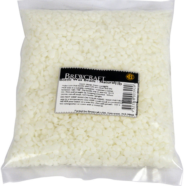 Bottle Wax Beads - Uncolored - 1 LB / 453.59g Package