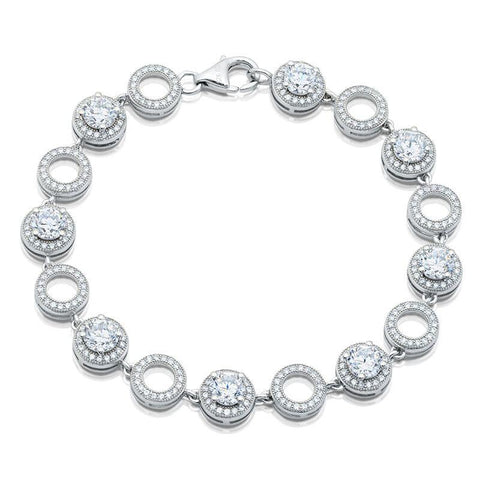 Regal Ribbons Cubic Zirconia Bracelet