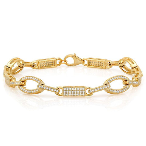 Elegant Yet Simple Cubic Zirconia Bracelet