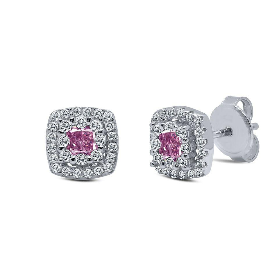 Pretty in Pink Post Earrings