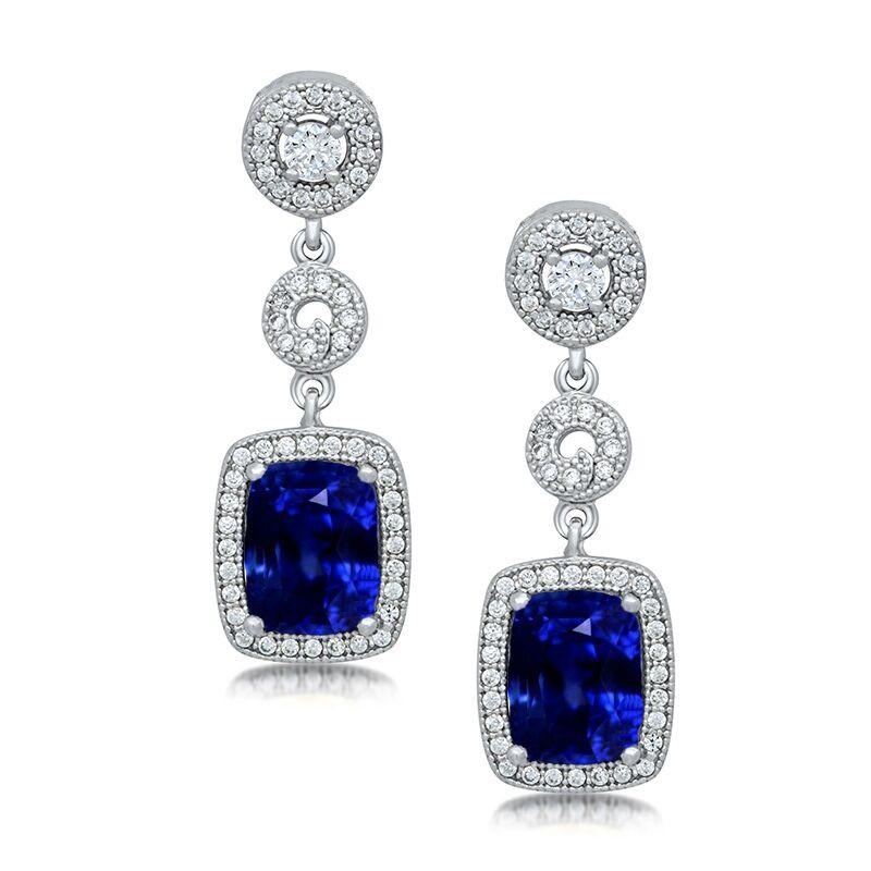 True Blue Glitz Earrings