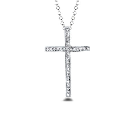 The Ebony CZ Cross Pendant