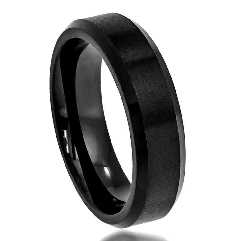 Black Cobalt Ring
