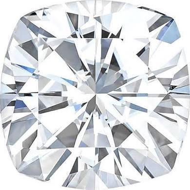 Forever One® Cushion Cut Moissanite