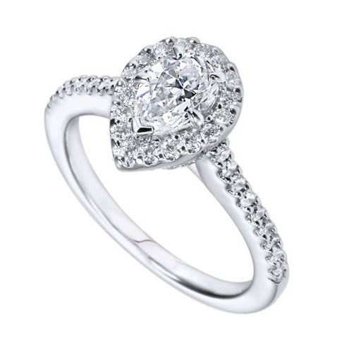 Princess Bliss Engagement Ring