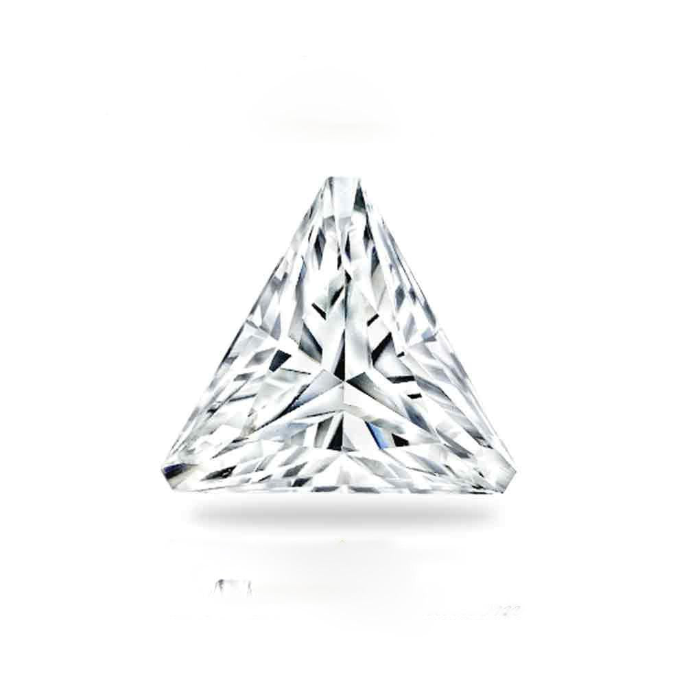 Forever Brilliant® Triangle Shaped Moissanite