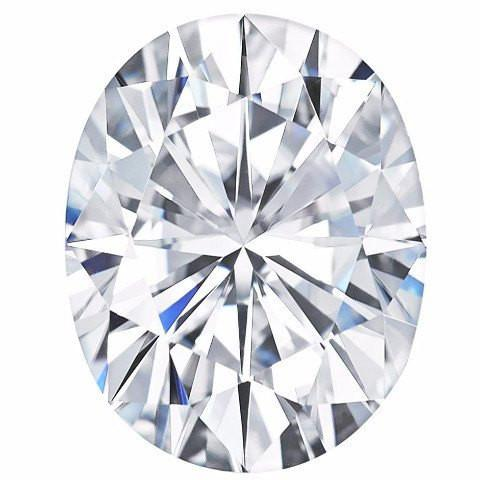 Forever One™ Oval Shaped Moissanite
