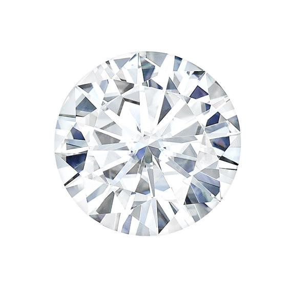 Forever One® Round Cut Moissanite