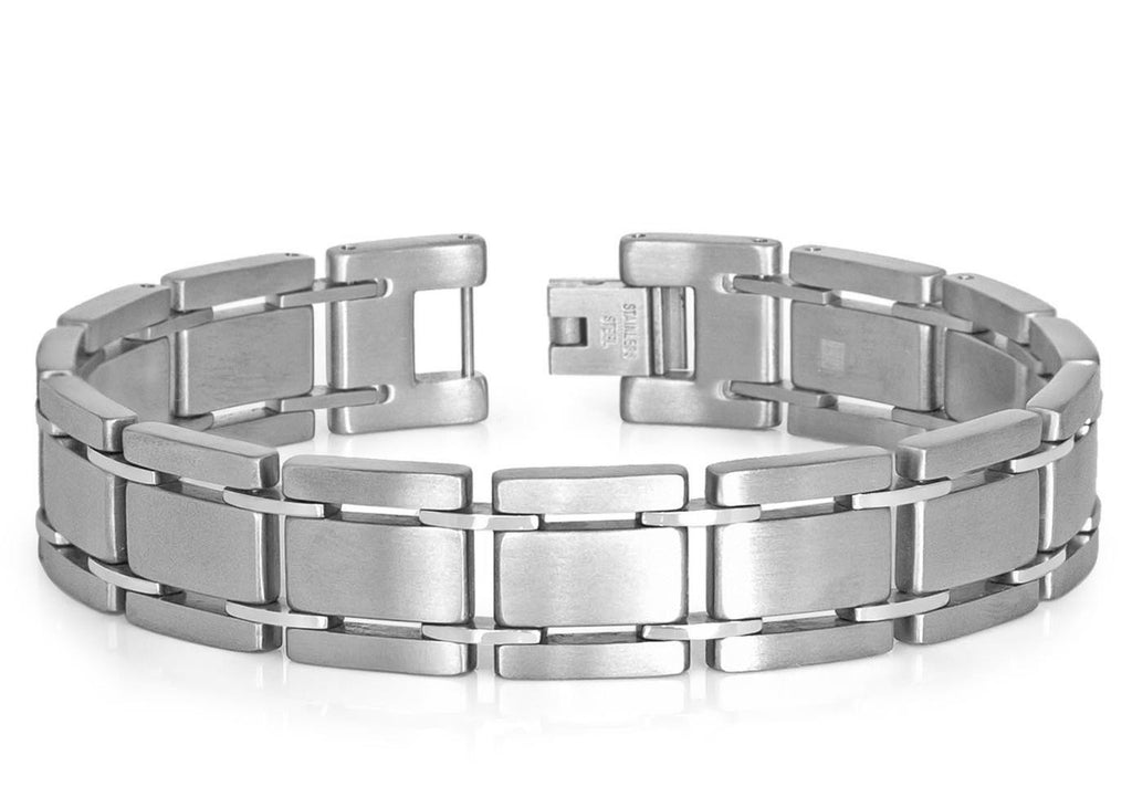 Brushed Finish Titanium Bracelet