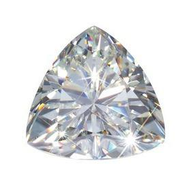 Forever Classic™ Trillion Cut Moissanite