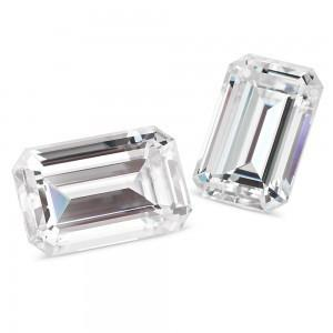 Forever Classic™ Emerald Cut Moissanite