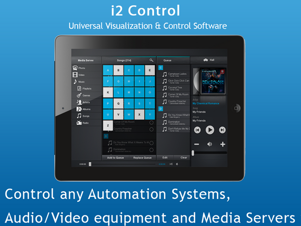 i2 Control for Android (Evaluation)