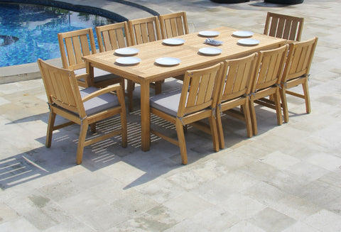 New Kubu Outdoor Dining Setting