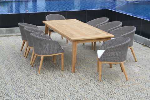 Sanur 8 Seat Outdoor Dining Setting