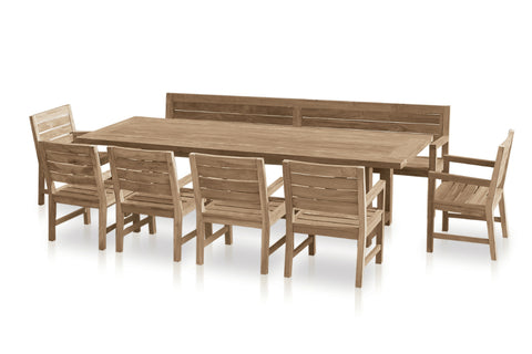 New Tembok Outdoor Dining Setting