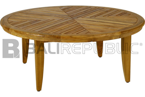 round outdoor table.  Table SANUR Round Outdoor Coffee Table Throughout