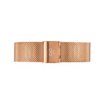 Rose Gold Mesh Watch Strap | Bow London | Classic X Rose