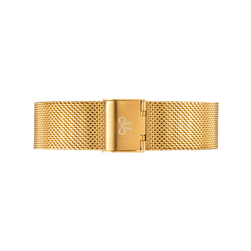 Gold Mesh Watch Strap | Bow London | Classic X Gold