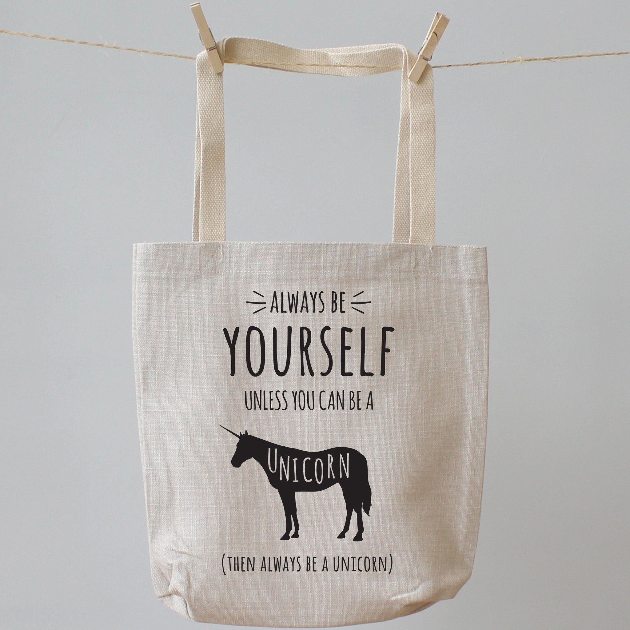 Always Be A Unicorn Tote Shopping Bag