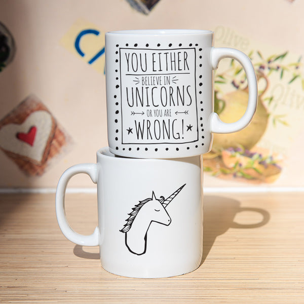 Believe In Unicorns! Ceramic Mug