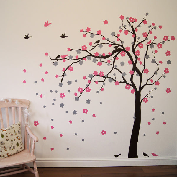 Floral Blossom Tree Wall Sticker