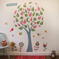 Spring Tree Wall Stickers
