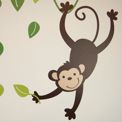 Animals And Tree Wall Stickers