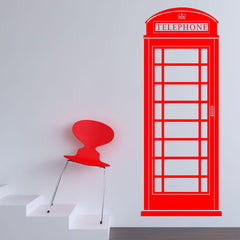 Phone Box Wall Stickers