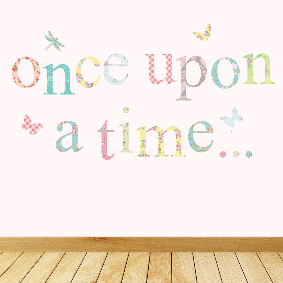 Pastel Once Upon A Time Wall Stickers