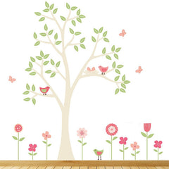 Spring Flower Garden Wall Stickers