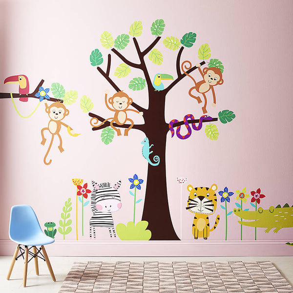 Tropical Jungle Wall Stickers