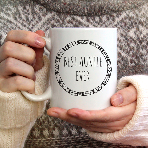 Best Ever Auntie Ceramic Mug