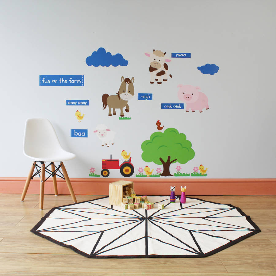 Down On The Farm Wall Stickers