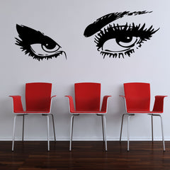 Sexy Eyes Wall Stickers