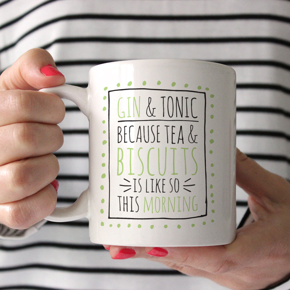 Gin And Tonic Ceramic Mug