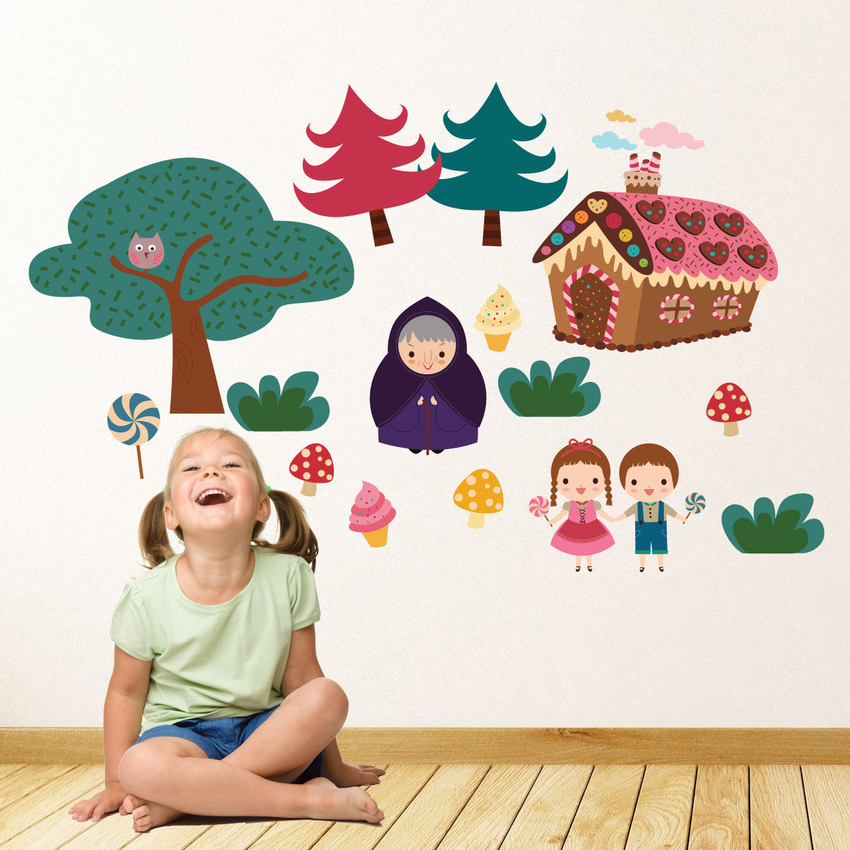 Hansel and Gretel Wall Stickers