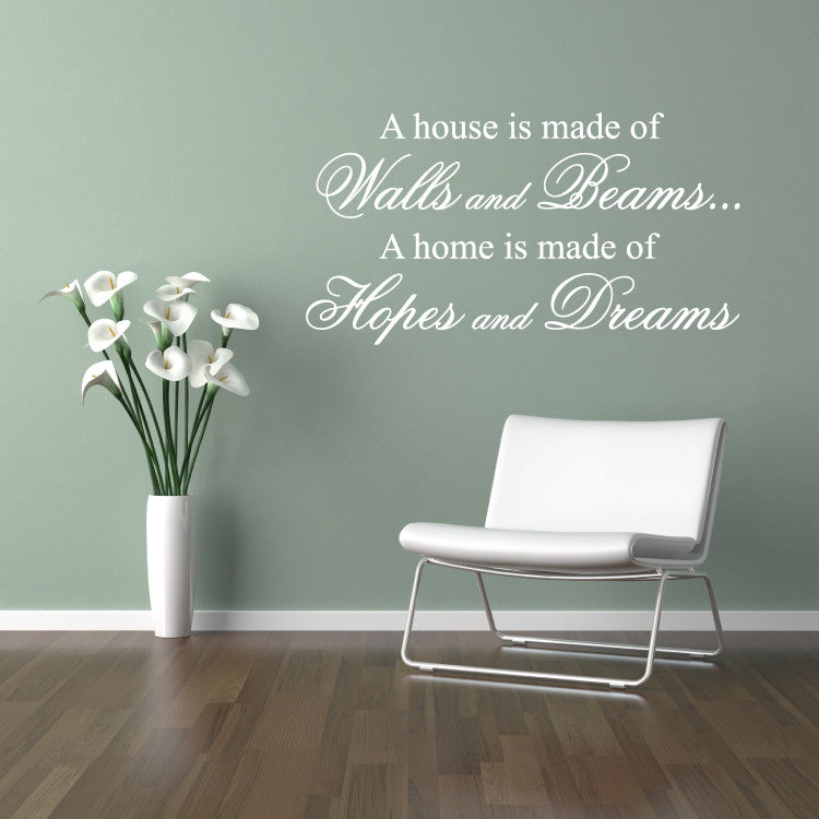Hopes And Dreams Wall Stickers Quotes