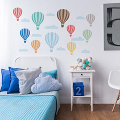 Hot Air Balloon Wall Stickers