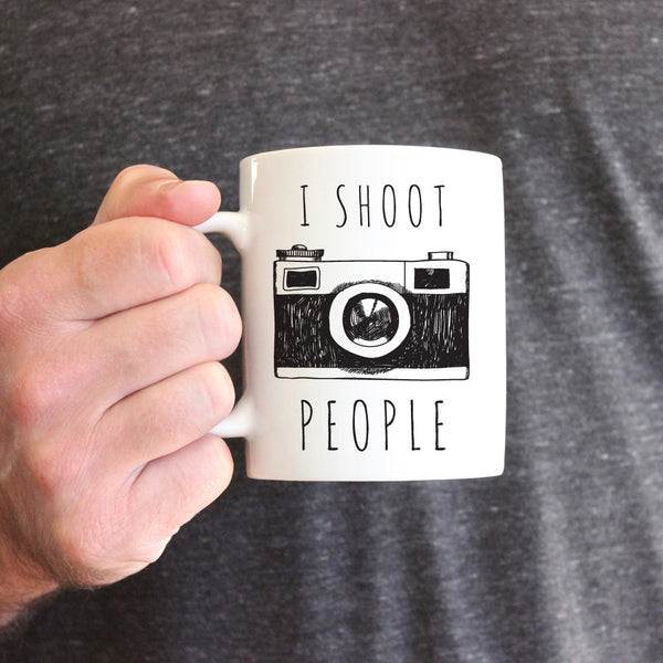 I Shoot People Ceramic Mug