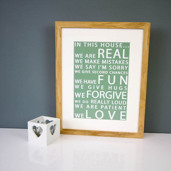 In This House Print