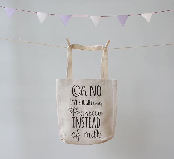 Oh no Prosecco. Tote Shopping Bag