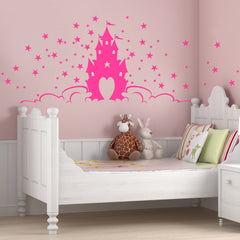 Fairytale Princess Castle Wall Sticker
