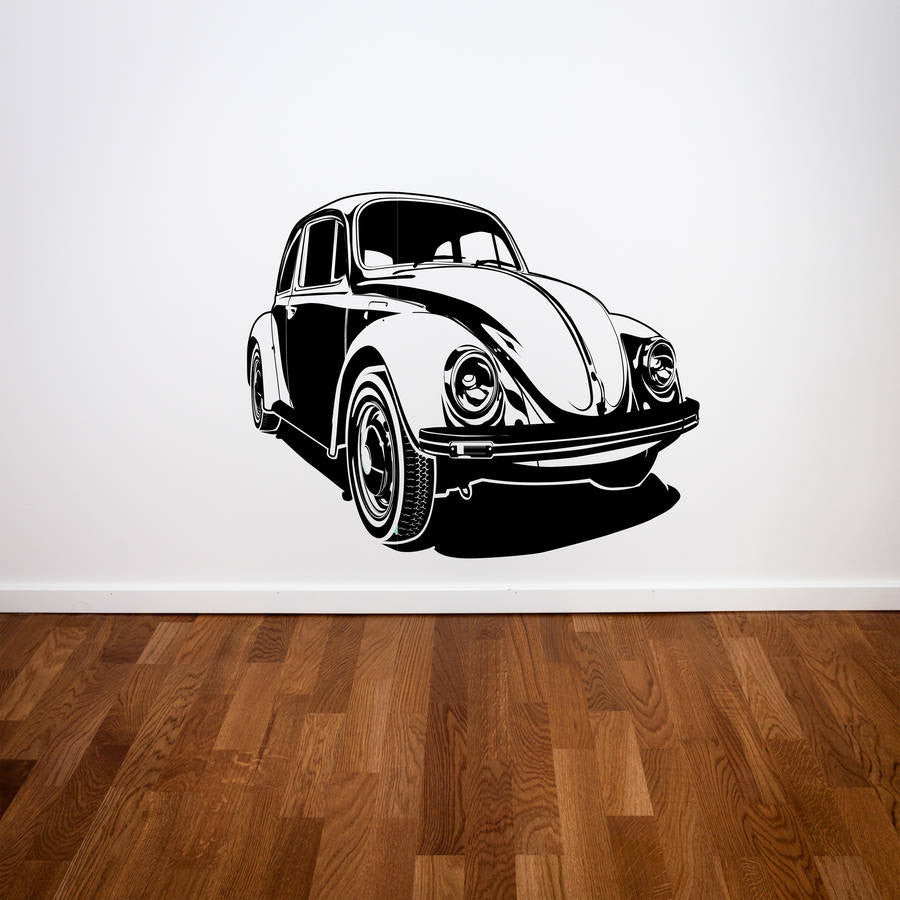 Beetle Car Wall Sticker